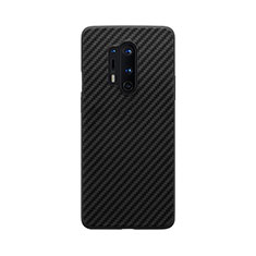 Custodia Silicone Morbida Spigato B02 per OnePlus 8 Pro Nero
