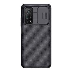 Custodia Silicone Morbida Spigato per Xiaomi Mi 10T Pro 5G Nero