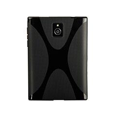 Custodia Silicone Morbida X-Line per Blackberry Passport Q30 Nero