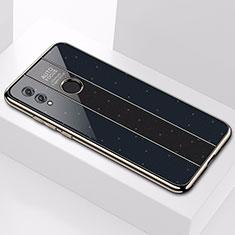 Custodia Silicone Specchio Laterale Cover M01 per Huawei Honor 10 Lite Nero