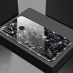 Custodia Silicone Specchio Laterale Cover M01 per Huawei Honor View 10 Lite Nero