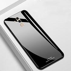 Custodia Silicone Specchio Laterale Cover M01 per Huawei Mate 20 Lite Nero