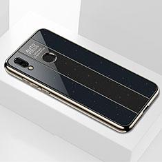 Custodia Silicone Specchio Laterale Cover M01 per Huawei Nova 3i Nero