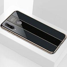 Custodia Silicone Specchio Laterale Cover M01 per Huawei P30 Lite Nero