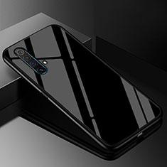 Custodia Silicone Specchio Laterale Cover M01 per Realme X50m 5G Nero