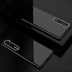 Custodia Silicone Specchio Laterale Cover M01 per Samsung Galaxy Note 10 5G Nero