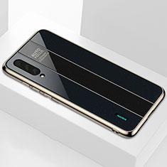 Custodia Silicone Specchio Laterale Cover M01 per Xiaomi CC9e Nero