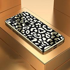 Custodia Silicone Specchio Laterale Cover M01 per Xiaomi Mi 8 Lite Nero