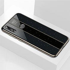 Custodia Silicone Specchio Laterale Cover M02 per Huawei Enjoy 9s Nero