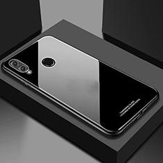 Custodia Silicone Specchio Laterale Cover M02 per Huawei Honor 10 Lite Nero