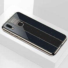 Custodia Silicone Specchio Laterale Cover M03 per Huawei Nova 3e Nero