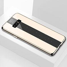 Custodia Silicone Specchio Laterale Cover M03 per Samsung Galaxy Note 8 Duos N950F Oro