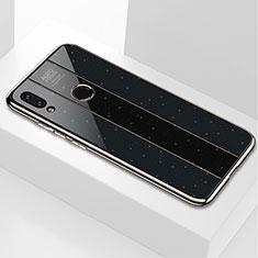 Custodia Silicone Specchio Laterale Cover M03 per Xiaomi Redmi Note 7 Nero