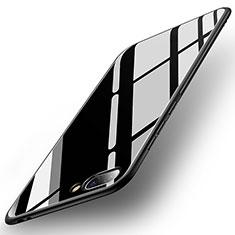 Custodia Silicone Specchio Laterale Cover per Huawei Honor 10 Nero
