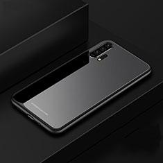 Custodia Silicone Specchio Laterale Cover per Huawei Honor 20 Pro Nero
