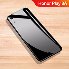 Custodia Silicone Specchio Laterale Cover per Huawei Honor Play 8A Nero