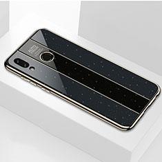 Custodia Silicone Specchio Laterale Cover per Huawei Honor View 10 Lite Nero