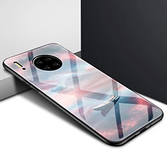 Custodia Silicone Specchio Laterale Cover per Huawei Mate 30 5G Multicolore