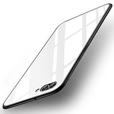 Custodia Silicone Specchio Laterale Cover per Huawei Nova 2S Bianco