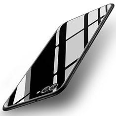 Custodia Silicone Specchio Laterale Cover per Huawei Nova 2S Nero