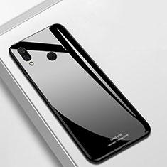 Custodia Silicone Specchio Laterale Cover per Huawei Nova 3i Nero