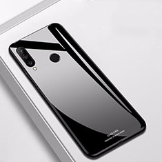 Custodia Silicone Specchio Laterale Cover per Huawei Nova 4e Nero