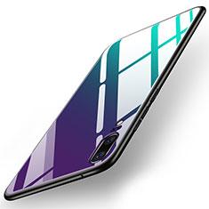 Custodia Silicone Specchio Laterale Cover per Huawei P20 Colorato