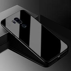 Custodia Silicone Specchio Laterale Cover per LG G7 Nero