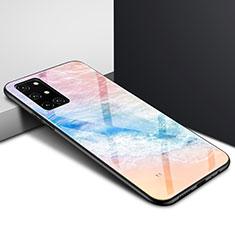 Custodia Silicone Specchio Laterale Cover per OnePlus 8T 5G Colorato