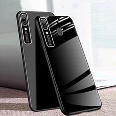 Custodia Silicone Specchio Laterale Cover per Samsung Galaxy A20e Nero