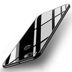 Custodia Silicone Specchio Laterale Cover per Xiaomi Mi 5X Nero