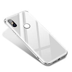 Custodia Silicone Specchio Laterale Cover per Xiaomi Mi 8 SE Bianco