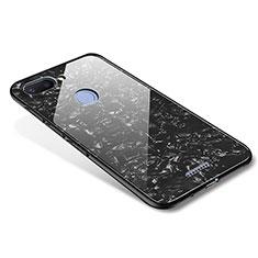 Custodia Silicone Specchio Laterale Cover per Xiaomi Redmi 6 Nero