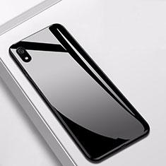 Custodia Silicone Specchio Laterale Cover per Xiaomi Redmi 7A Nero
