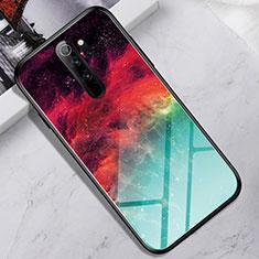 Custodia Silicone Specchio Laterale Cover per Xiaomi Redmi Note 8 Pro Colorato