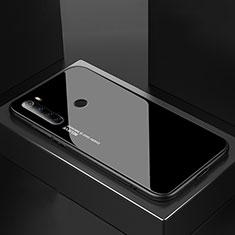 Custodia Silicone Specchio Laterale Cover per Xiaomi Redmi Note 8T Nero