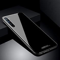 Custodia Silicone Specchio Laterale Cover T01 per Oppo Find X2 Lite Nero