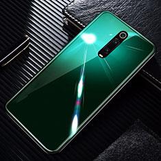 Custodia Silicone Specchio Laterale Cover T01 per Xiaomi Mi 9T Pro Verde