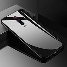 Custodia Silicone Specchio Laterale Cover T03 per Xiaomi Mi 9T Pro Nero