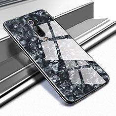 Custodia Silicone Specchio Laterale Cover T04 per Xiaomi Mi 9T Pro Nero