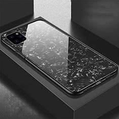 Custodia Silicone Specchio Laterale Cover T06 per Apple iPhone 11 Pro Nero
