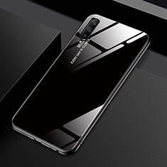 Custodia Silicone Specchio Laterale Sfumato Arcobaleno Cover per Huawei Honor 9X Pro Nero