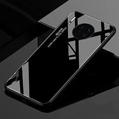 Custodia Silicone Specchio Laterale Sfumato Arcobaleno Cover per Huawei Mate 30 Nero