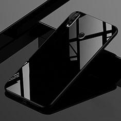 Custodia Silicone Specchio Laterale Sfumato Arcobaleno Cover per Huawei Nova 4e Nero
