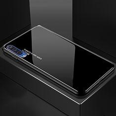 Custodia Silicone Specchio Laterale Sfumato Arcobaleno Cover per Xiaomi Mi A3 Lite Nero