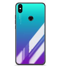 Custodia Silicone Specchio Laterale Sfumato Cover per Xiaomi Mi 6X Multicolore