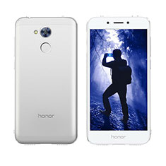Custodia Silicone Trasparente A Flip Morbida Cover per Huawei Honor 6A Chiaro