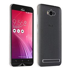 Custodia Silicone Trasparente Gel Ultra Sottile Morbida per Asus Zenfone Max ZC550KL Chiaro
