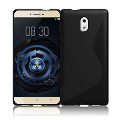 Custodia Silicone Trasparente Morbida S-Line per Nokia 3 Nero