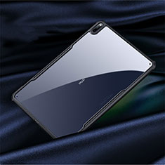Custodia Silicone Trasparente Specchio Laterale Cover M01 per Huawei MatePad Pro 5G 10.8 Nero